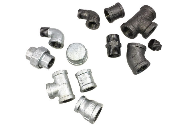3/4 Inch Quick Connect Tee Threaded Tee Fittings Smooth Surface For Oil Pipes